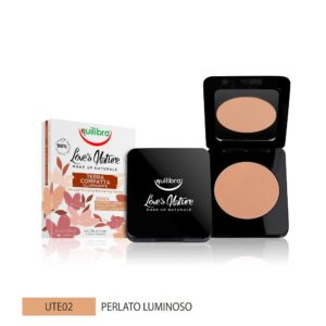 Equilibra Love's Nature Compact Bronzing Powder puder brązujący 02 Pearly Bright 8.5g M0102