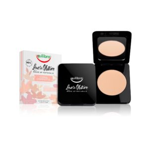 Equilibra Love's Nature Compact Face Powder utrwalający puder w kompakcie 01 Honey 8.5g M0102