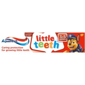 Aquafresh Little Teeth pasta do zebow Psi Patrol 50ml