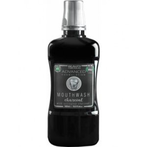Beauty Formulas Mouthwash plyn do plukania jamy ustnej z aktywnym weglem Charcoal 500ml