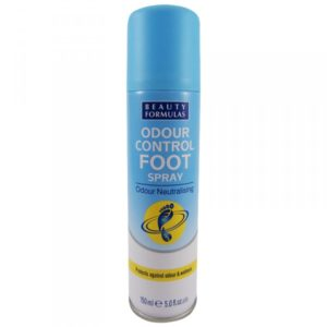 Beauty Formulas Odour Control Foot Spray antybakteryjny dezodorant do stop 150ml