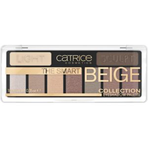 Catrice paleta cieni do powiek 010 Nude But Not Naked 10g The Smart Beige Collection Eyeshadow Palette