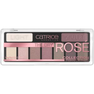 Catrice paleta cieni do powiek 010 Rose All Day 10g The Dry Rose Collection Eyeshadow Palette