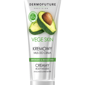 Dermofuture Vege Skin Creamy Body Mousse kremowy mus do ciala Avocado  Shea Butter 200ml