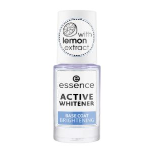 Essence Active Whitener Base Coat Brightening wybielajaca baza do paznokci 8ml