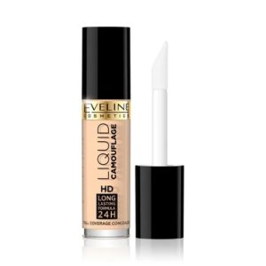 Eveline Liquid Camouflage Full Coverage Concealer korektor kryjacy do twarzy 01 Light 5ml