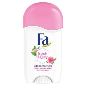 Fa Fresh  Dry Peony Sorbet Anti perspirant antyperspirant w sztyfcie 50ml