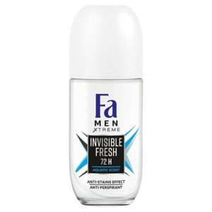 Fa Men treme Invisible Fresh Anti perspirant Roll On antyperspirant w kulce dla mezczyzn 50ml