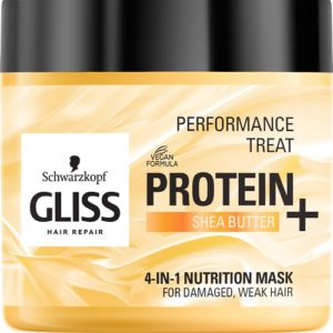 Gliss Kur Performance Treat 4 in 1 Nutrition Mask maska odzywcza do wlosow Protein  Shea Butter 400ml