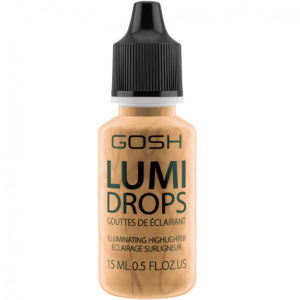 Gosh Lumi Drops Highlighter rozswietlacz w plynie 014 Gold 15ml