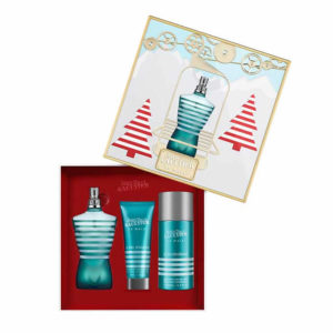 Jean Paul Gaultier Le Male zestaw woda toaletowa spray 125ml zel pod prysznic 75ml dezodorant spray 150ml