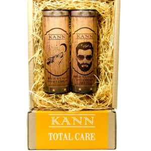 KANN Total Care Man zestaw Day Cream krem na dzien SPF15 50ml  Night Cream krem na noc 50ml