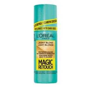 L Oreal Paris Magic Retouch blyskawiczny retusz odrostow w sprayu Jasny Blond 75ml