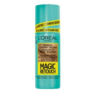 L Oreal Paris Magic Retouch blyskawiczny retusz odrostow w sprayu sredni i Ciemny Blond 75ml