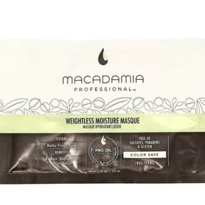 Macadamia Weightless Moisture Masque nawilzajaca maska do wlosow cienkich 30ml
