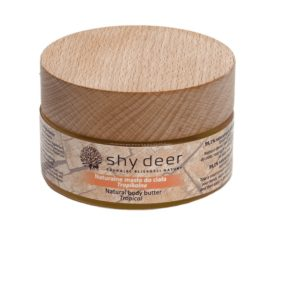 Shy Deer Natural Body Butter naturalne maslo do ciala Tropical 100ml