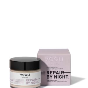 Veoli Botanica Repair By Night Cream krem do twarzy z ochrona lipidowa na noc 60ml