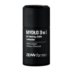Zew For Men mydlo 3w1 do twarzy ciala i wlosow 85ml
